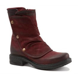 Bueno Greta Nubuck Dark Red