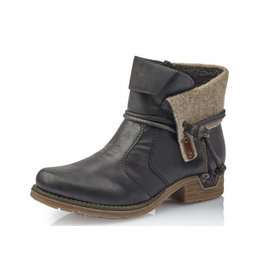 Rieker Fee Boot Black