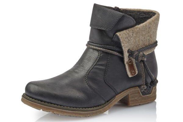 Rieker Rieker Fee Boot Black