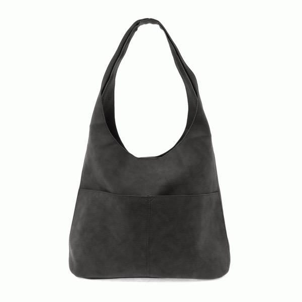 Joy Susan Joy Susan Jenny Faux Suede Handbag Black