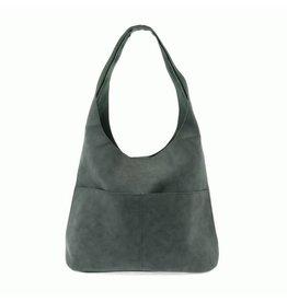 Joy Susan Jenny Faux Suede Handbag Teal