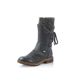 Rieker 94773-00 Dominka Boot Black