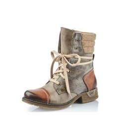 Rieker 79631-25 Fee Boot Brandy