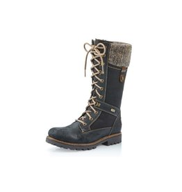 Remonte D7477-02  Santana Black Boot