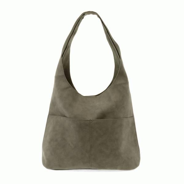 Joy Susan Joy Susan Jenny Faux Suede Handbag Sage