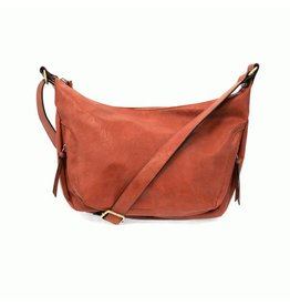 Joy Susan Debbie Hobo Handbag Persimmon