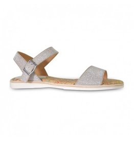 Rollie Sandal Rose Gold Sparkle