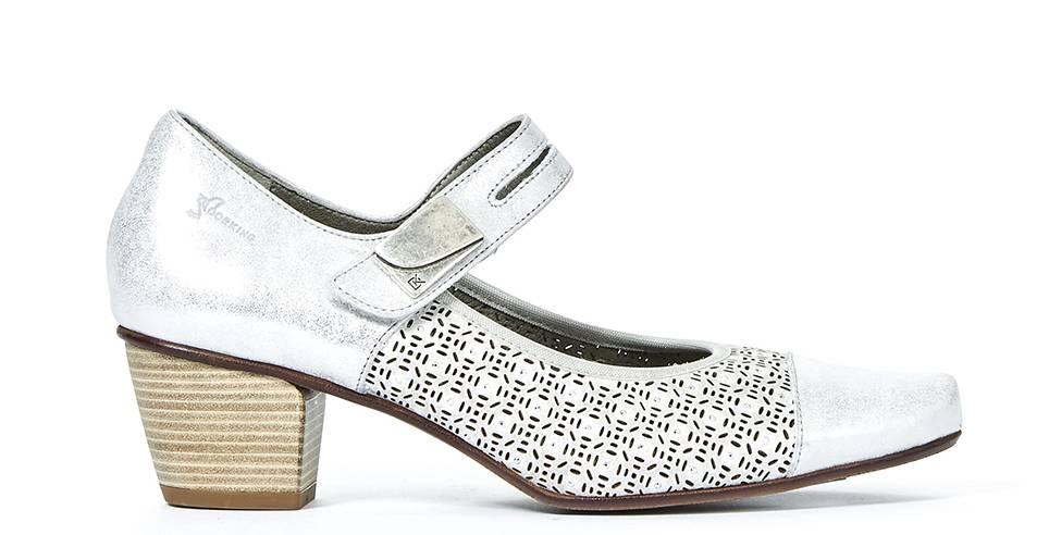 Dorking Dorking 7500MWT Metallic White Heel