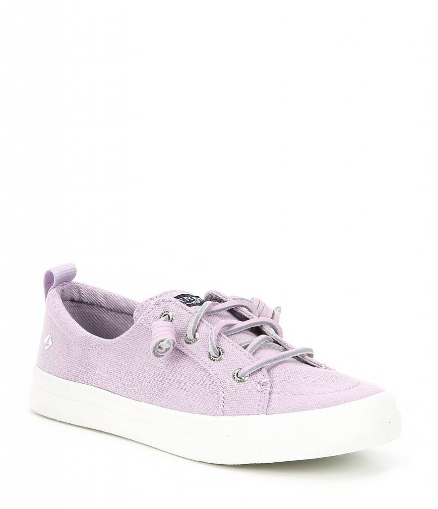Sperry Girls Crest Vibe Sneaker Lavendar
