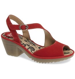 Fly London Wyno Lipstick Red
