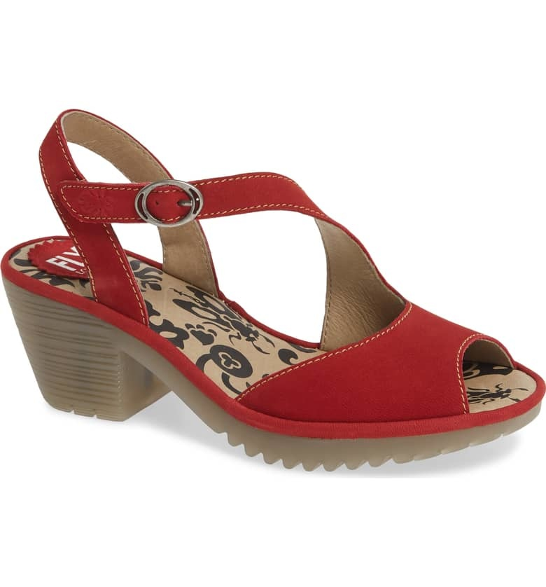 Fly London Fly London Wyno Lipstick Red