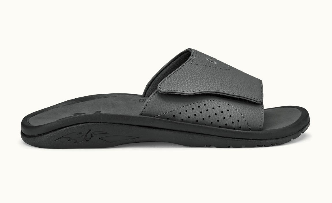 OluKai OluKai Men's Nalu Slide Dark Shadow
