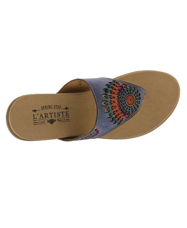 L'Artiste Mayura Blue Sandal