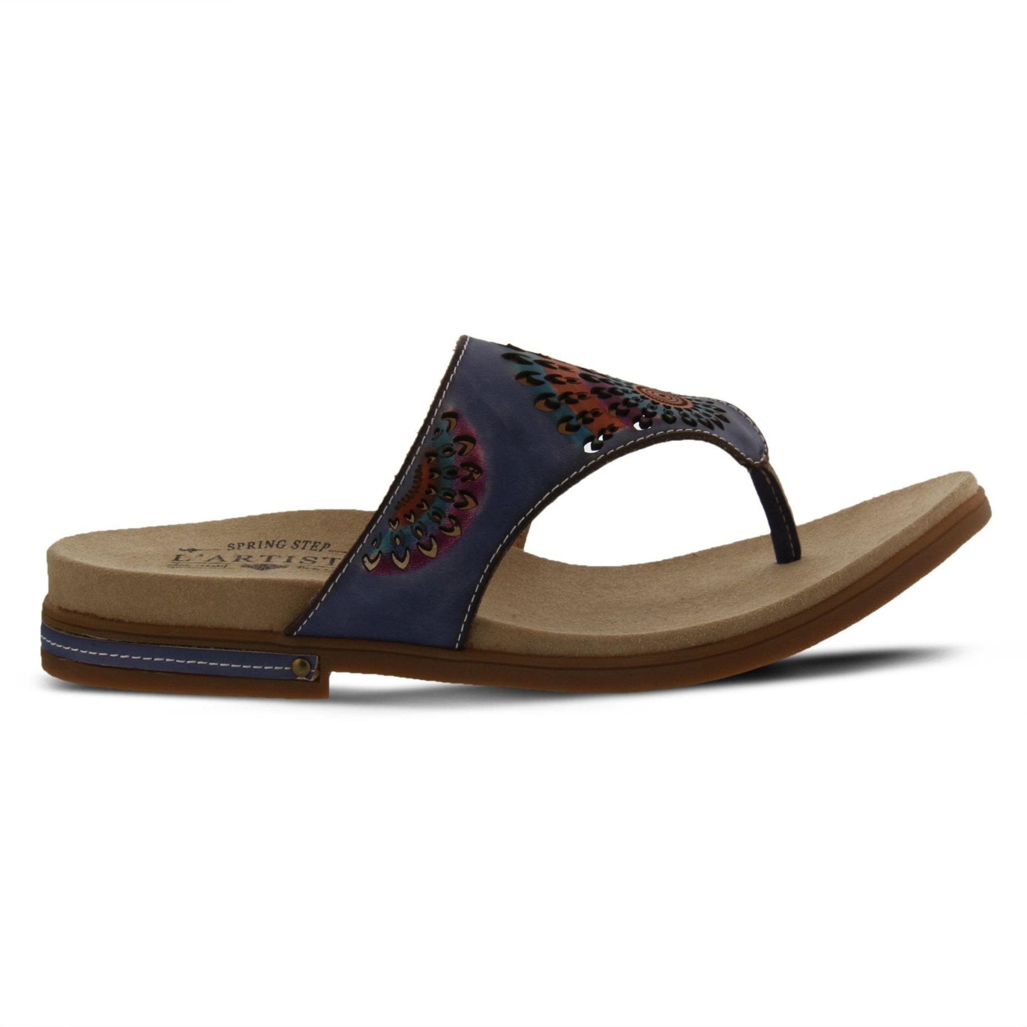 L' Artiste L'Artiste Mayura Blue Sandal