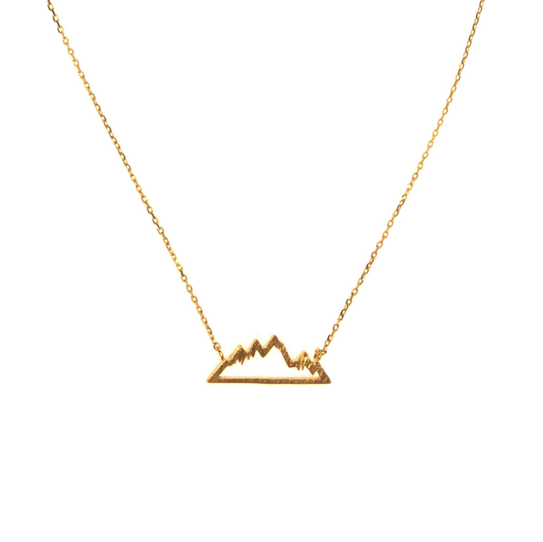 Joy Susan Joy Susan Mountain Necklace