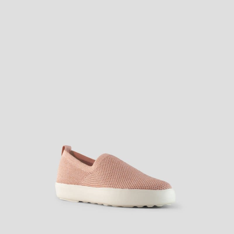 Cougar Hint Metallic Stretch Knit Slip-on Rose Gold