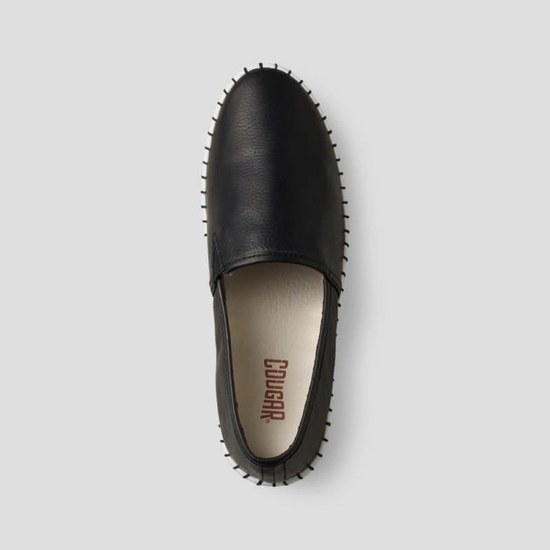 Cougar Chico Leather Slip-on Black