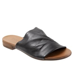 Bueno Turner Leather Slide Black