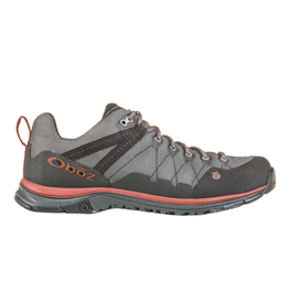 Oboz Mens  Trail Dark Shadow/Russet