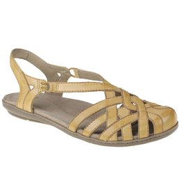 Earth Brielle Sandal Amber Yellow