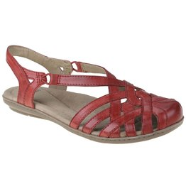 Earth Brielle Sandal Bright Red