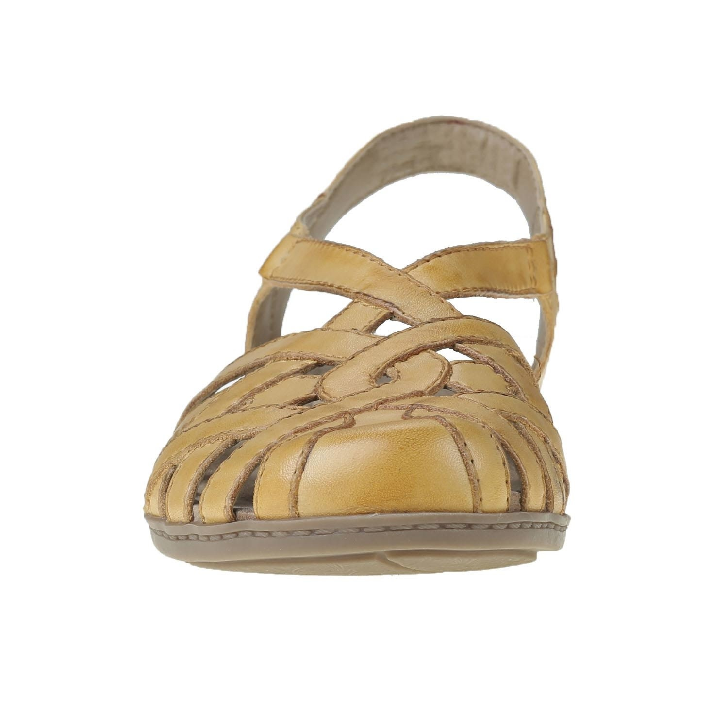 Earth Earth Brielle Sandal Amber Yellow