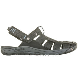 Oboz Women's Campster Sandal Black/Blue Mirage