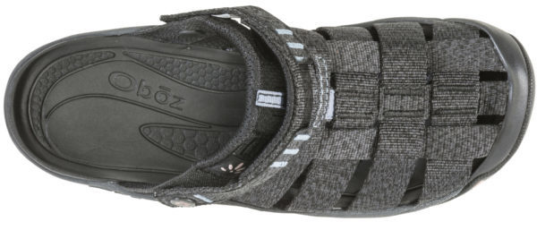 Oboz Oboz Women's Campster Sandal Black/Blue Mirage