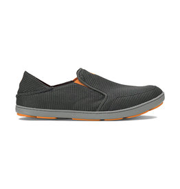 OluKai Men's Nohea Mesh Slip On Dark Shadow