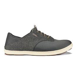 OluKai Men's Nohea Moku Sneaker Charcoal/Clay
