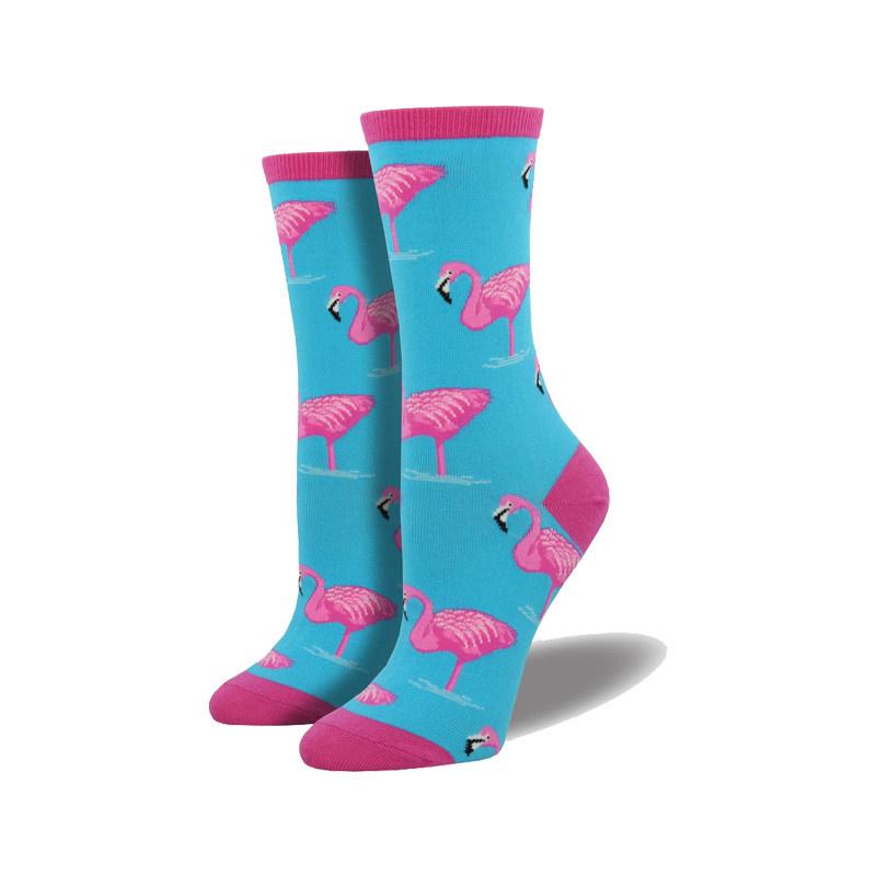 Socksmith Socksmith Women's Cotton Blend Flamingos
