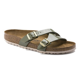 Birkenstock Women's Yao Khaki BF Narrow Fit