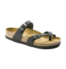 Birkenstock Women's Mayari Oiled Black Regular Fit