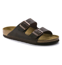 Birkenstock Women's Arizona Habana Oiled Narrow Fit
