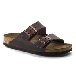 Birkenstock Men's Arizona Havana Oiled Soft FB