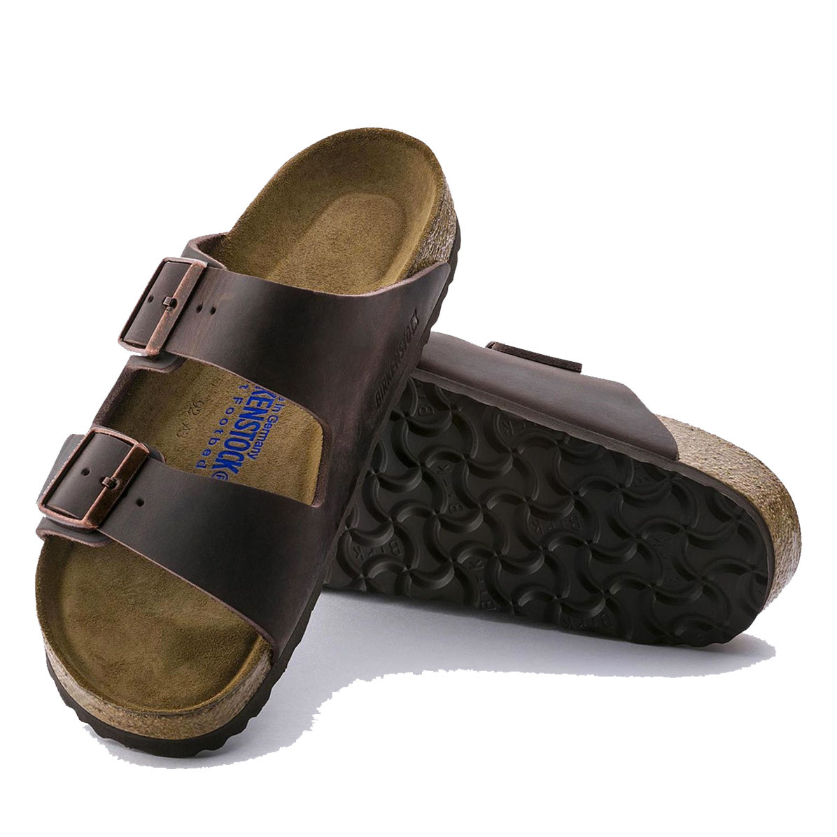 Birkenstock Birkenstock Mens Arizona Havana Oiled Soft FB