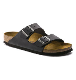Birkenstock Women's Arizona Black Oiled Regular Fit
