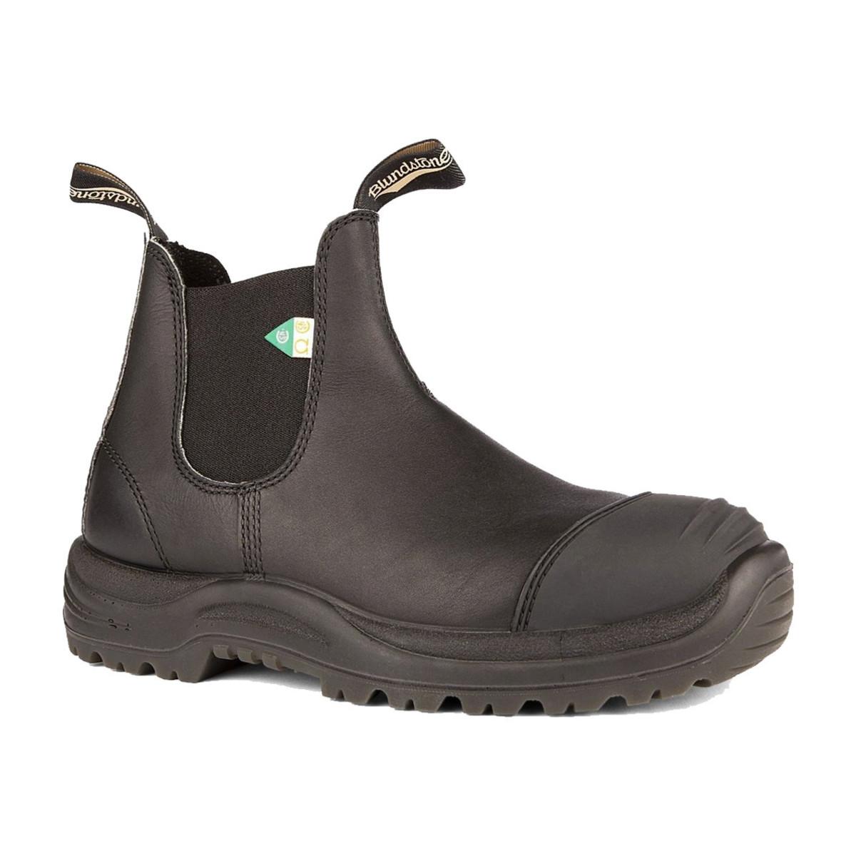 Blundstone 168 -  Work & Safety Rubber Toe Cap Black