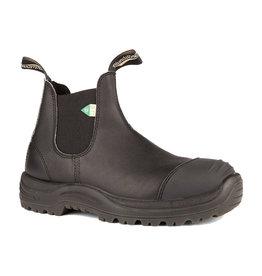 Blundstone 168 -  CSA Rubber Toe Cap Black