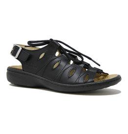 Volks Walkers 04970 Leather Sandal Black
