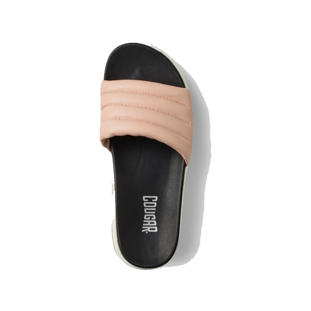 Cougar Prato Leather Slip on Sandal Pink