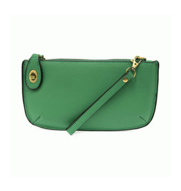 Joy Susan Mini Crossbody Wristlet Clutch Gecko Green