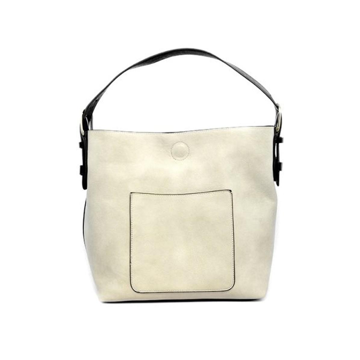 Joy Susan Joy Susan Classic Hobo Handbag Stone