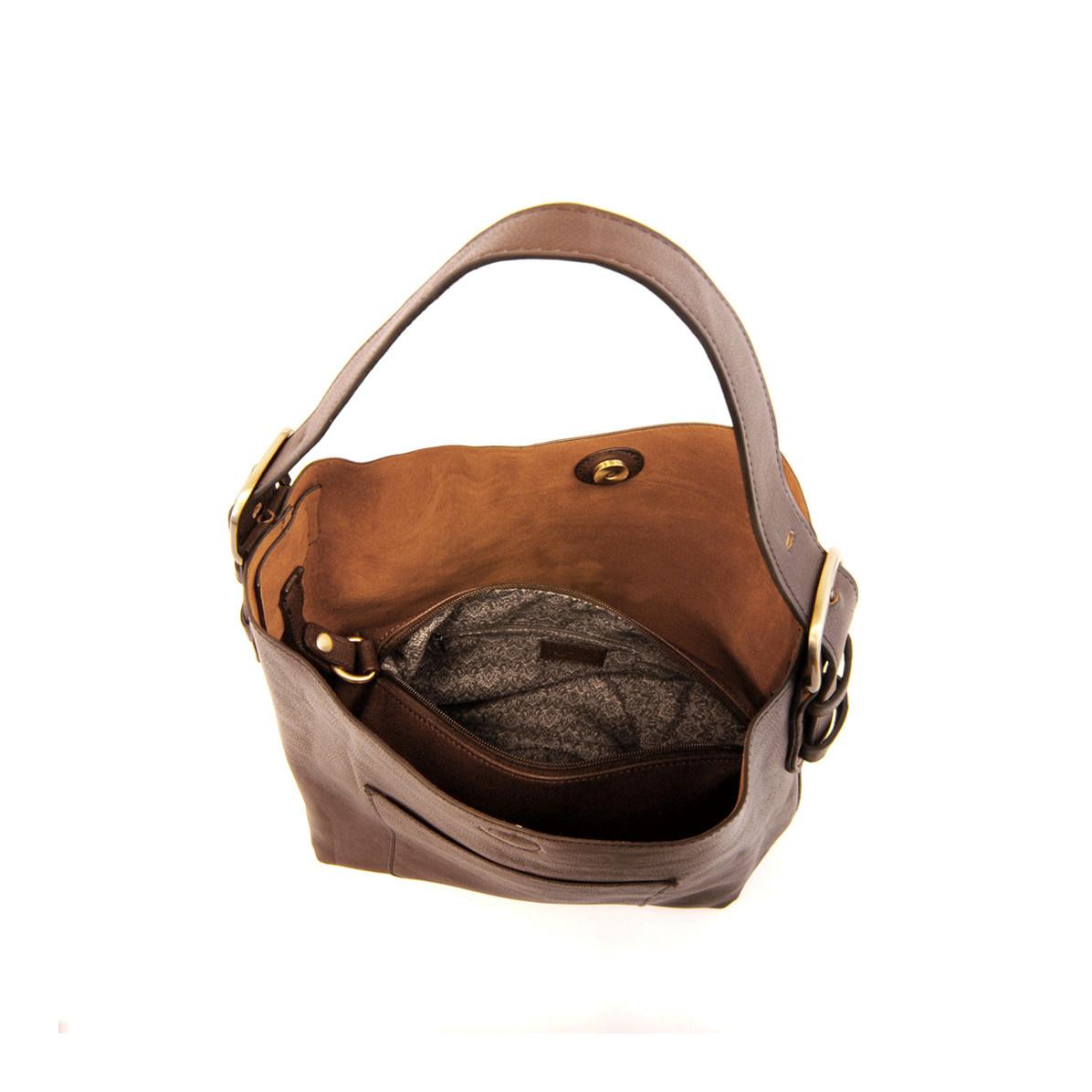 Joy Susan Joy Susan Classic Hobo Handbag Brown