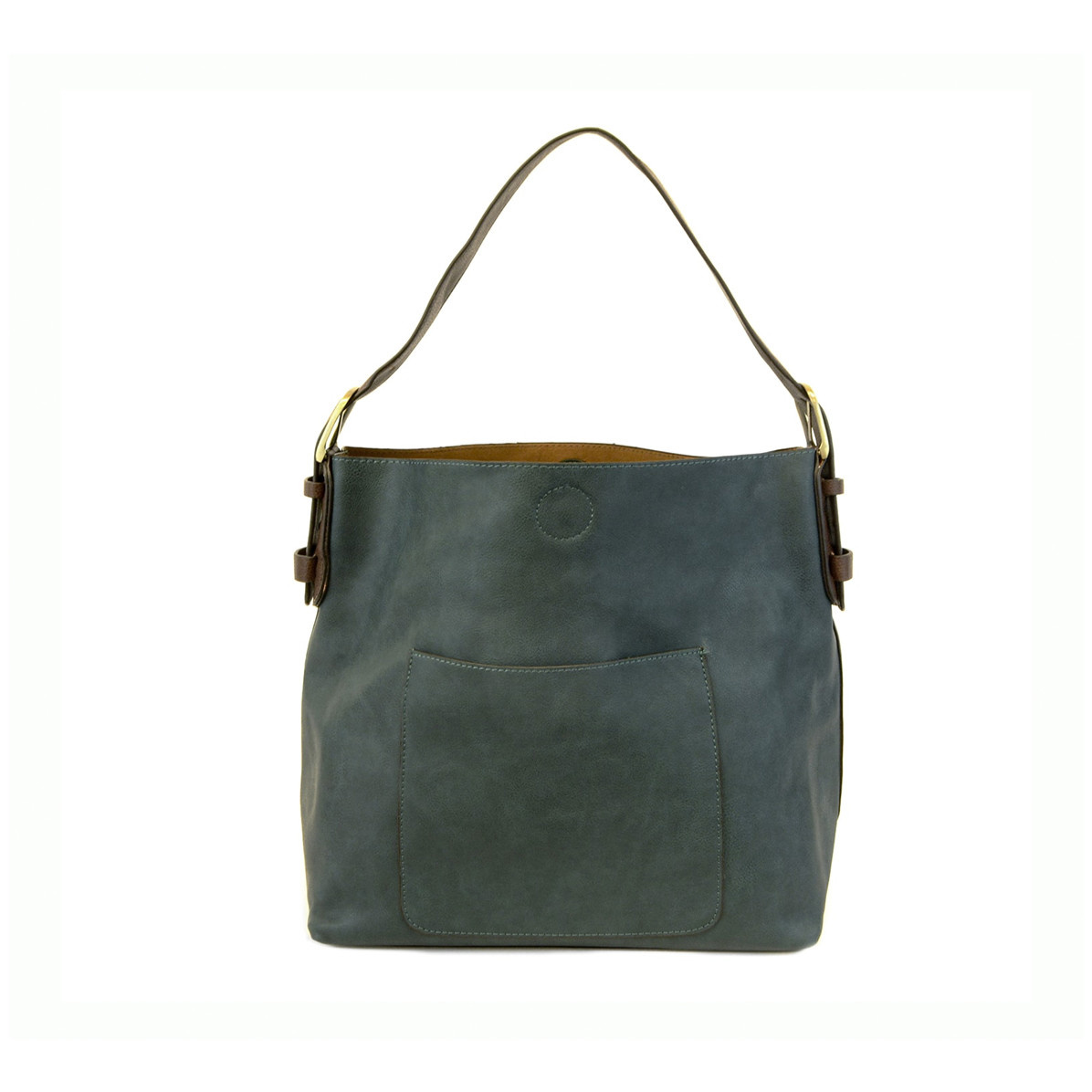 Joy Susan Joy Susan Classic Hobo Handbag Dark Teal