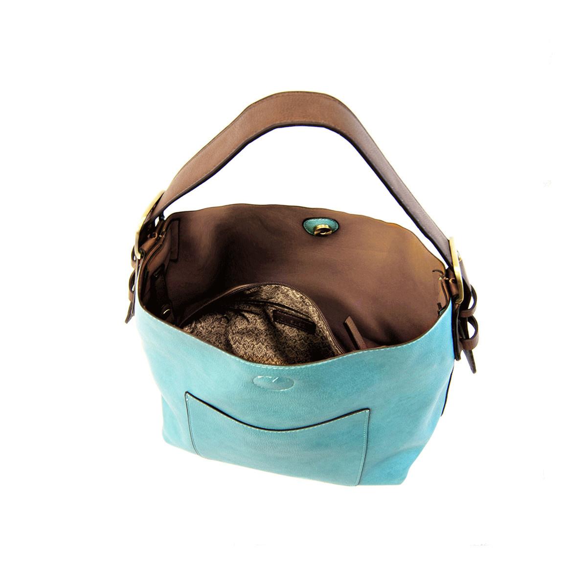 Joy Susan Joy Susan Classic Hobo Handbag turquoise