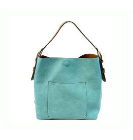 Joy Susan Classic Hobo Handbag Turquoise