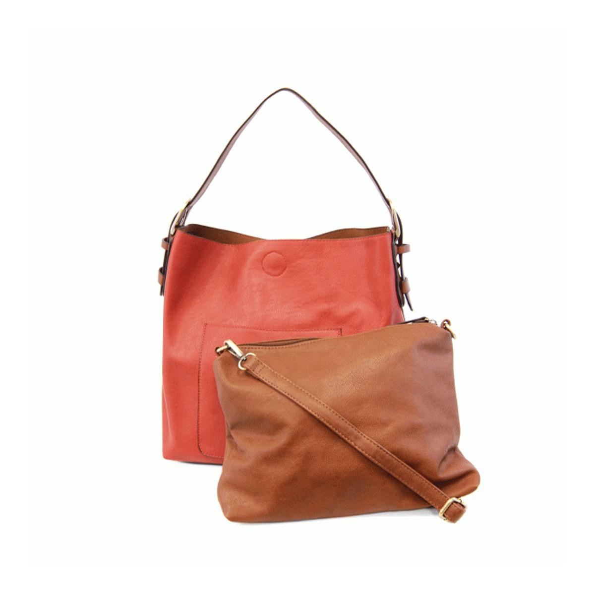 Joy Susan Joy Susan Classic Hobo Handbag Geranium