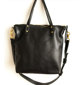 Outlaw Handmade Leather Handbag Black