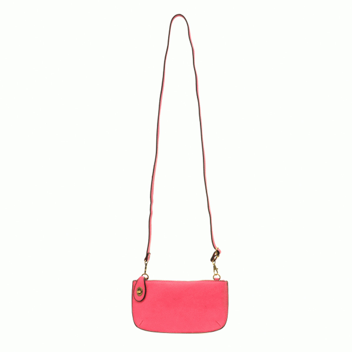 Joy Susan Joy Susan Mini Crossbody Wristlet Clutch Fuschia
